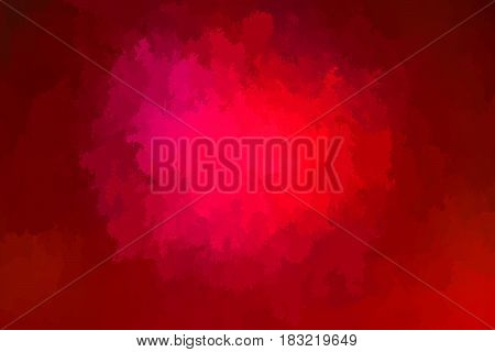 Abstract vibrant red vector background horizontal format.