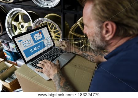 Mail Communication Connection Online Concept