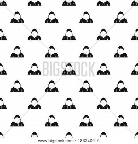Hood pattern seamless in simple style vector illustration
