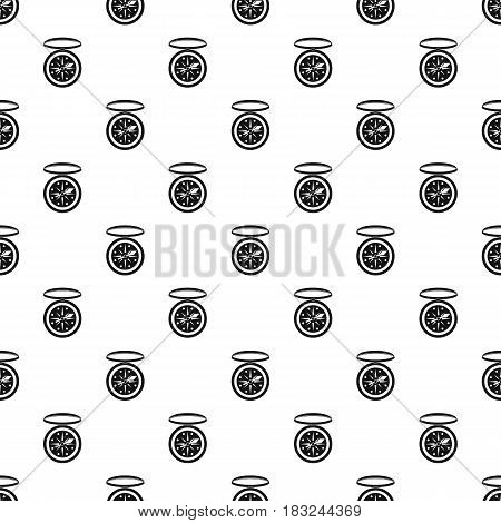 Compass pattern seamless in simple style vector illustration
