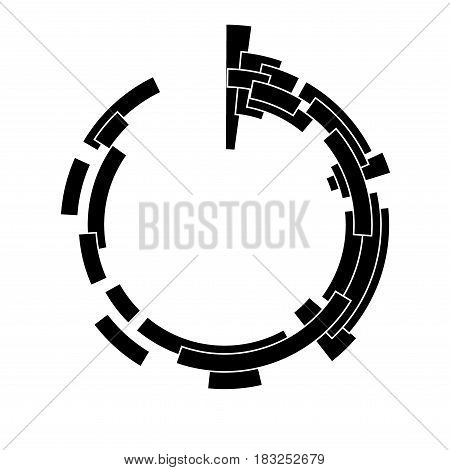 Abstract design element. May be used as frame or background