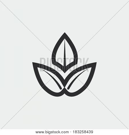 spa icon isolated on white background .