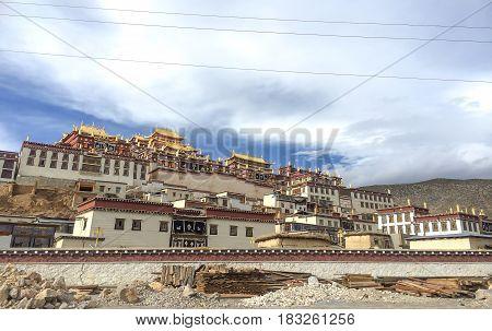 Songzanlin TempleTibetan Monastery in Shangrila Yunnan China