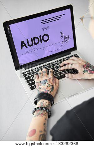 Audio Music Streaming Online Entertainment Media