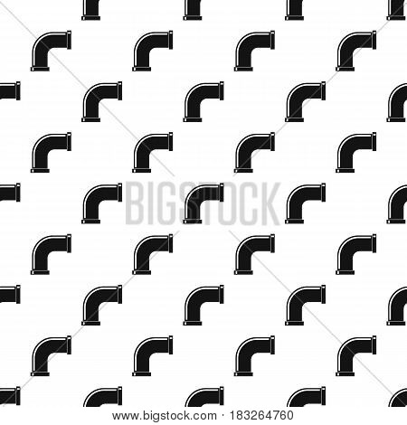 Water pipe pattern seamless in simple style vector illustration