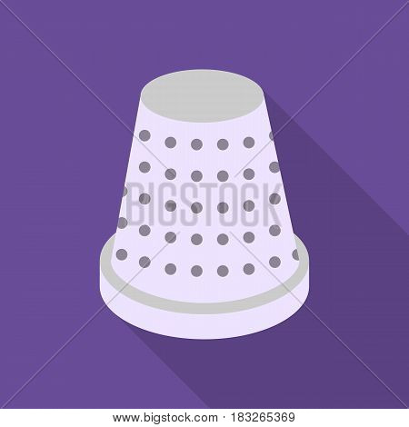Thimble icon of vector illustration for web and mobile design
