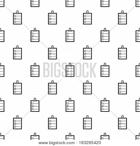To do list pattern seamless in simple style vector illustration