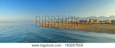 Lido Di Camaiore Coast View