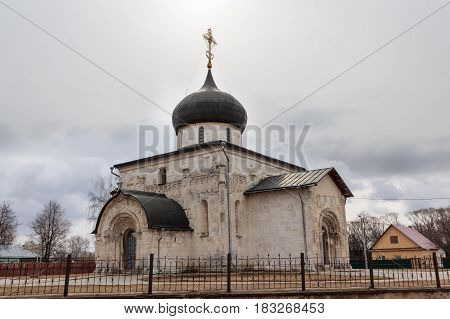 St. George's Cathedral In Yuryev-polsky, 13Th Century, The Golden Ring Of Russia