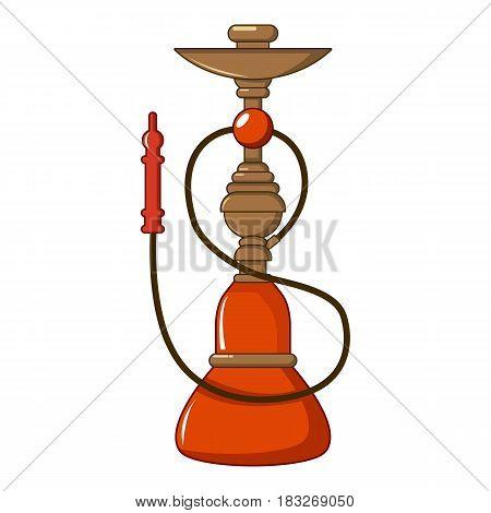 Turkish hookah icon. Cartoon illustration of Turkish hookah vector icon for web