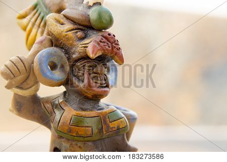 Aztec Mexican Warrior Handicraft