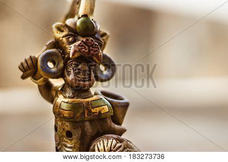 Aztec Mexican Warrior Handicraft