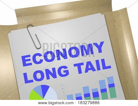 Economy Long Tail Concept