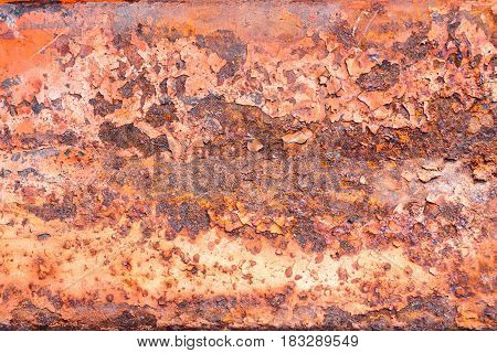 Rusty metal texture, rusty metal background for design. Rusty metal is caused by moisture in the air.