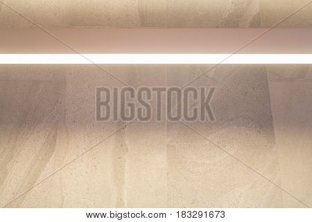 Warm Light On Marble Wall stock photo