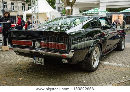 BERLIN - JUNE 14 2015: Pony car Ford Shelby GT500
