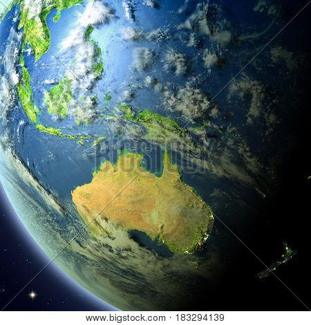 Australia From Orbit