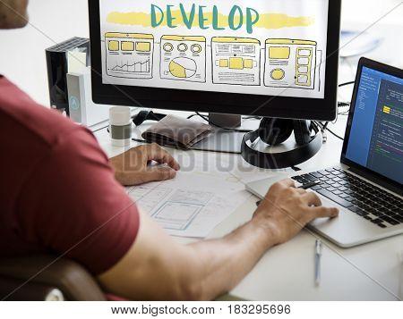 Website Design Planning Development Content Layout