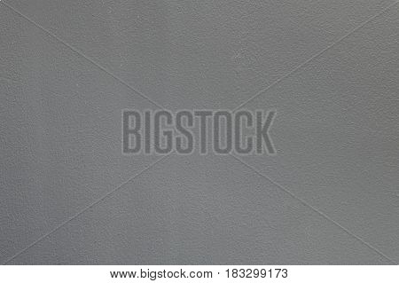 Closeup surface old dark gray painted cement wall textured background