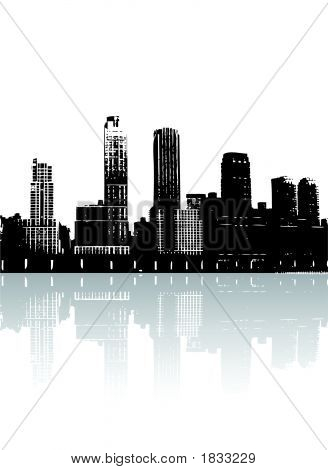 Siluet binalar