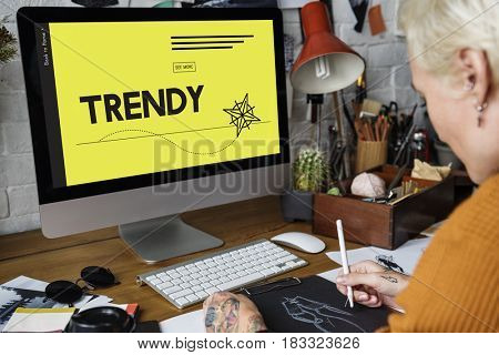 Innovation Technology Creativity Trendy Graphic