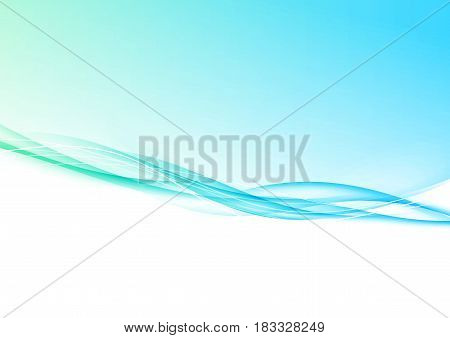 Bright gradient fade lines border layout template. Vector illustration