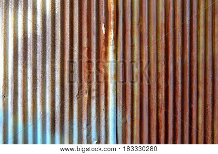 Old Zinc Wall Texture Background. Suitable for Presentation and Web Templates.