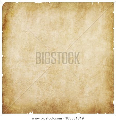 Old aged blank paper texture decorative background