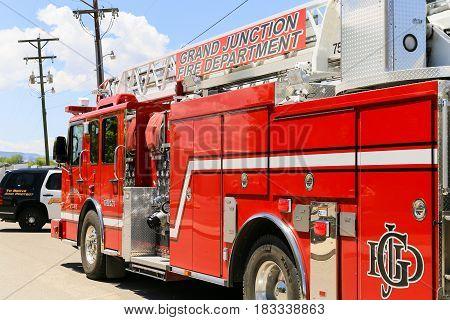 Grand Junction Fire Truck