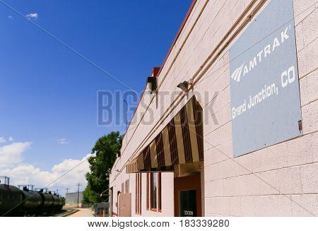 Amtrak Station In Grand Junction