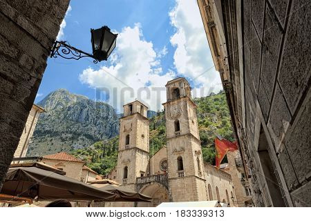 Cathedral of St. Tryphon in Kotor, Montenegro
