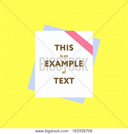 Abstract template web banner advertising stock and sale