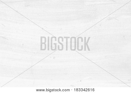 White Paint Concrete Wall Texture Background. Suitable for Presentation and Web Templates with Space for Text.