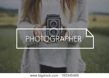 Photography pictures leisure word overlay