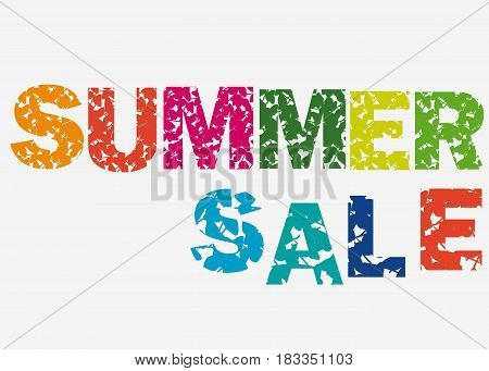 Summer sale Concept. Summer background with tropical flowers.sammer sale colorful
