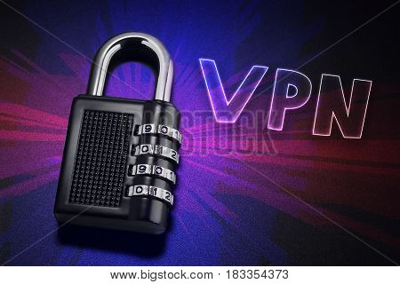 Connection To Internet Security, Electronic Security, Internet Traffic Encryption. Vpn