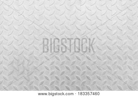 White Diamond Plate Texture Background. Suitable for Presentation and Web Templates with Space for Text.