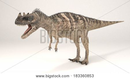 3D Computer rendering illustration of Ceratosaurus dinosaur