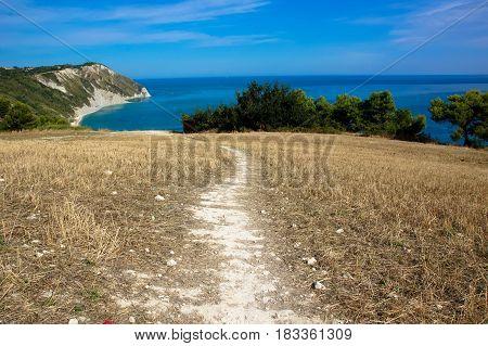 Sirolo Beach, Adriatic, Marche, Italy, spiaggia, holiday, sun, Riviera del Conero