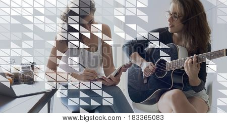 Graphic Design Visual Isolated Image Couple