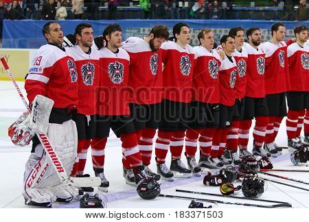 Ice Hockey 2017 World Championship Div 1 In Kyiv, Ukraine