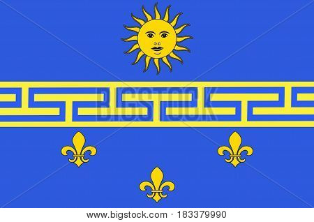 Flag of Nogent-sur-Seine is a commune in the Aube department in north-central France