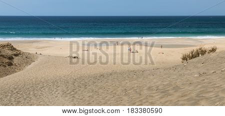 Playa Del Castillo, Fuerteventura, Spain
