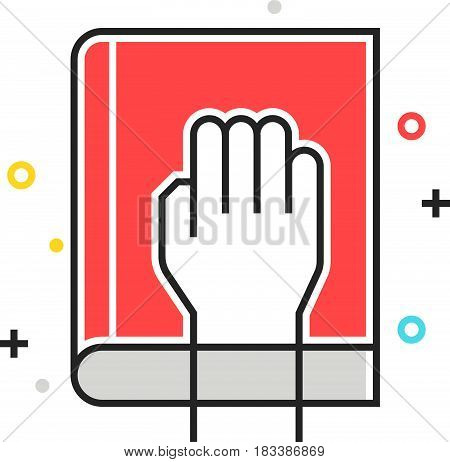 Color Box Icon, Honesty Illustration, Icon