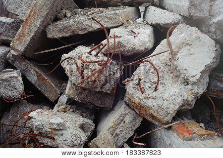 Concrete Destroyed Buildings