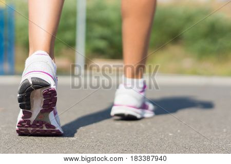 Legs Of A Runaway Woman.