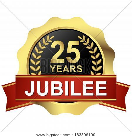 Button 25 Years Jubilee