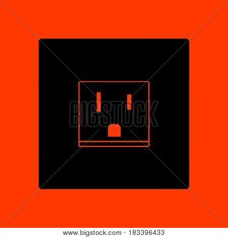 Usa Electrical Socket Icon