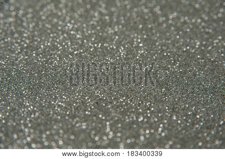 Silver glitter - - new year background