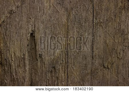 Texture Wooden Fence With Horizontal Yellow Boards And Faded Paint Background.